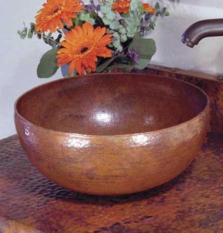copper sinks native trails%20 Copper Sinks by Native Trails   rustic copper