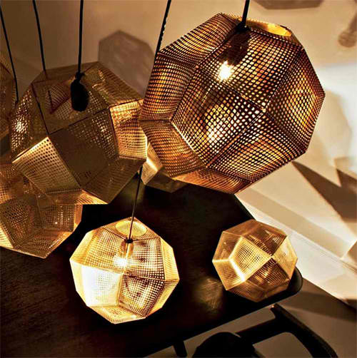 copper stainless steel etch shade pendants tom dixon 2