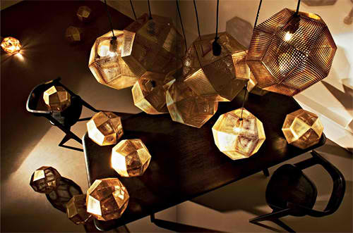 copper stainless steel etch shade pendants tom dixon 3
