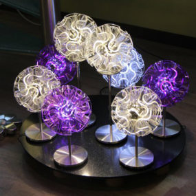 Coral LED Lamp by QisDesign