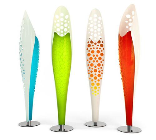 corian led floor lamp luminexence octopus 1 Modern LED Floor Lamp by LumineXence – Octopus