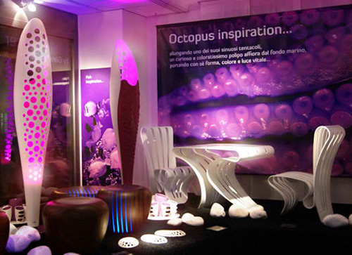 corian led floor lamp luminexence octopus 5 Modern LED Floor Lamp by LumineXence – Octopus