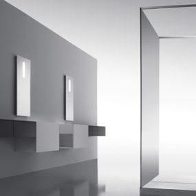 Zen Like Bathroom collection from Cosmic – the Upgrade minimalist bathroom with hidden controls