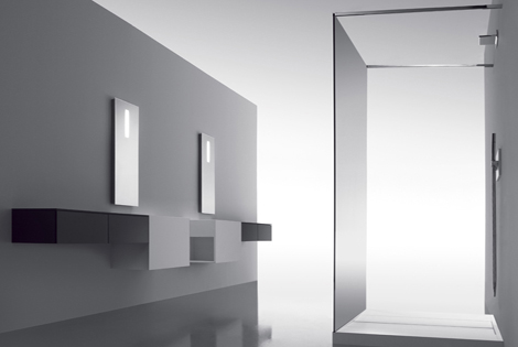 Cosmic Bathroom Upgrade Zen Like Collection From The Minimalist With Hidden Controls