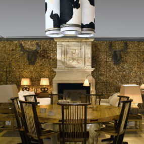 Cowhide Lamp Shades – Cow Skin Lamps by SDA Decoration