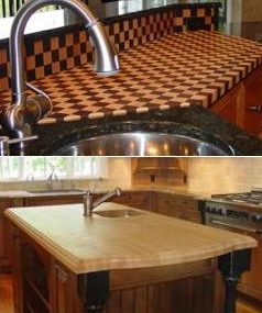 New Craft-Art Wood Countertops… are hot!