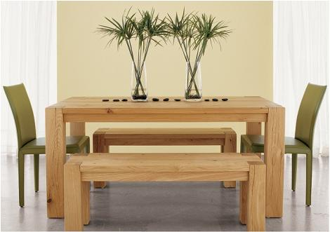 Crate Barrel Big Sur Dining Table Set From All