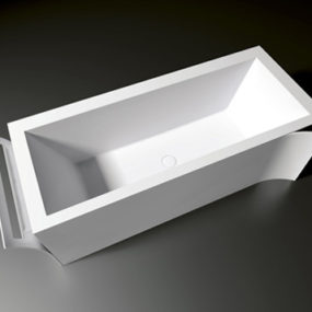 Creative Bathtub Design by Teuco – Paper Duralight tub