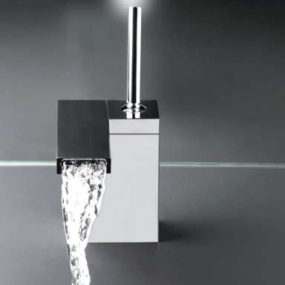 Waterfall Bathroom Faucet from Rubinetterie Cristina – Modul