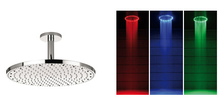 crosswater shower rio colors Rio LED Shower from Crosswater… Bring a Dazzling LED Showering Experience to Your Bathroom!