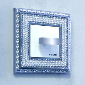 Crystal Encrusted Switch Plates by Fede