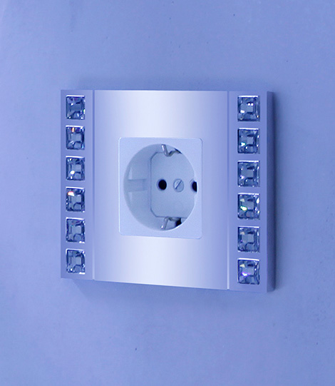 crystal encrusted switch plates 3