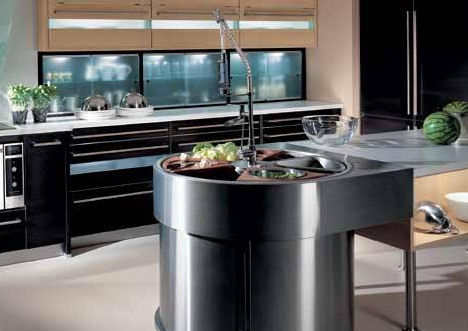 culinablu kitchen design waterstation Culinablu modern European kitchens   new kitchen design elements