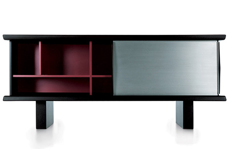 Cupboard with sliding doors by Cassina – new for 2010