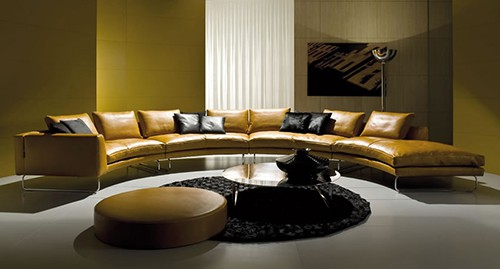 Perfect Sofas for Socializing – Curved and Double Sided Contemporary Sofas by i4 Mariani