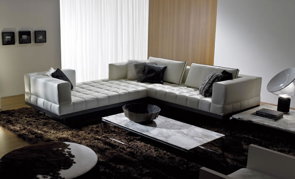 Perfect Sofas For Socializing Curved And Double Sided