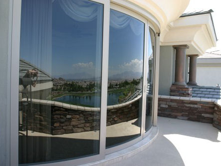 curved lift and slide doors closed Curved Sliding Door   Luxury Glass Doors from Weiland