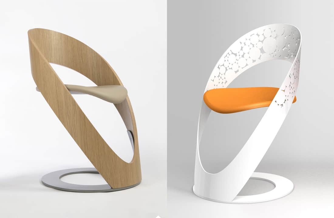 Curvy Chairs And Stools By Martz Edition