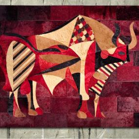 Custom Cowhide Rugs by Kyle Bunting