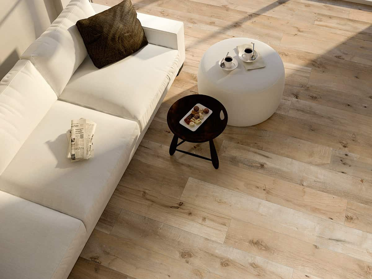 Ceramic Tile Replicates Wood Dakota By Flaviker - How to protect ceramic tile floors