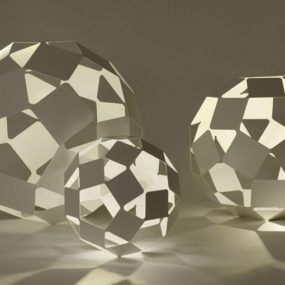 Dancing Squares Lamps from Luminaire
