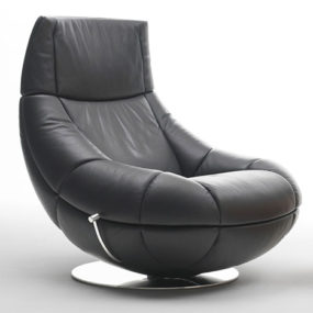 Contemporary Armchair from De Sede – new DS 166 leather armchair