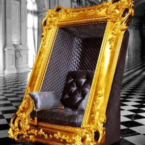 Decadent Frame Chair by Slokoski