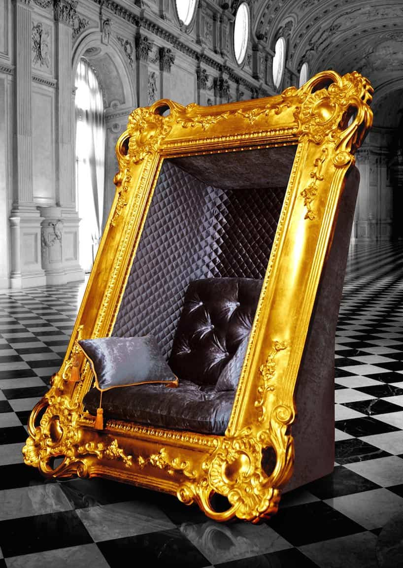Marvelous Decadent Frame Chair By Slokoski