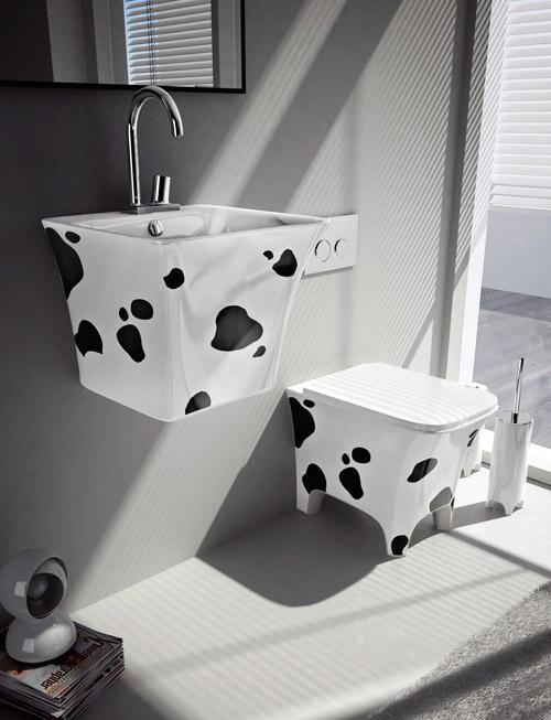 decor basins artceram cow 1 Fun Bathroom Fixtures by Artceram  Cow