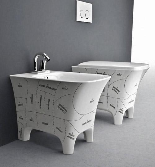decor basins artceram cow 3 Fun Bathroom Fixtures by Artceram  Cow