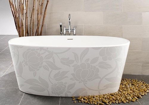decorative bathtubs wetstyle image in motif 1 Decorative Bathtubs by WetStyle