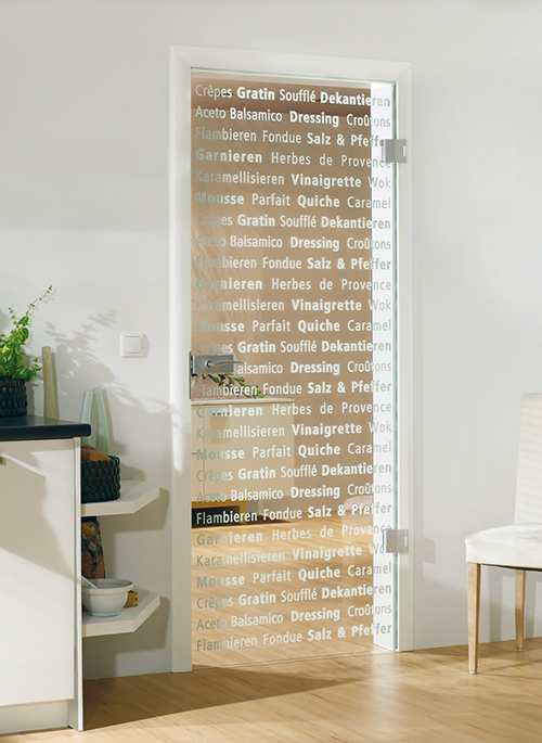 Decorative glass door for kitchen or dining room by bartels planetlyrics