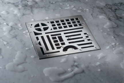 Decorative Square Shower Drains Ca Faucets Decolines