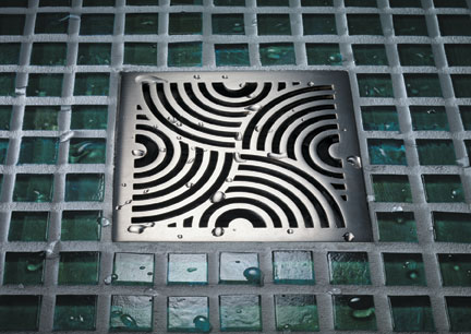 Awesome Decorative Square Shower Drains U2013 Four New Drain Covers By California  Faucets