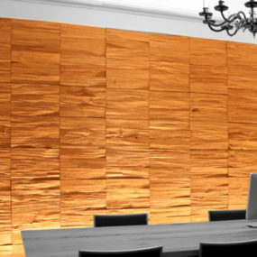 Wood Wall Covering - panels by SDA