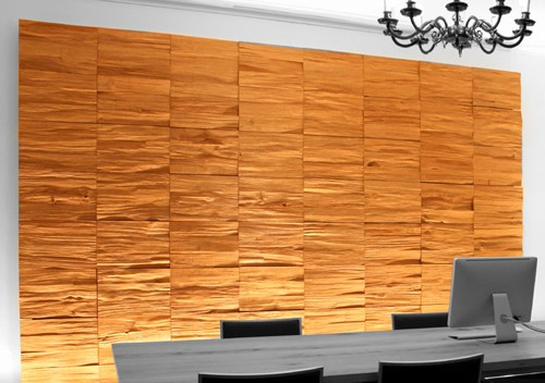 Decorative Wood Panels for Walls by Klaus Wangen – Split