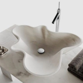 Stone Bathroom Sinks – Incredible Design by Decormarmi