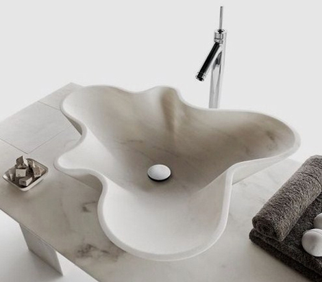 decormarmi kreoo sink nabhi 1 Stone Bathroom Sinks   Incredible Design by Decormarmi