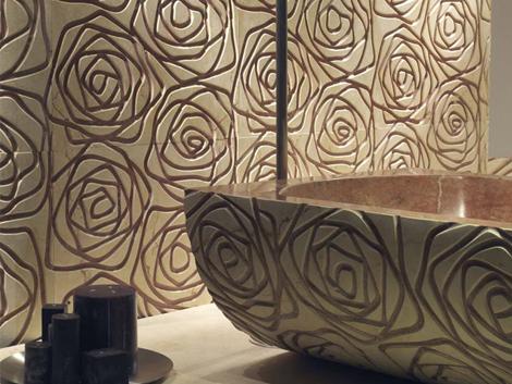 decormarmi three dimensional tiles graffiti 6 Three Dimensional Tiles   modern marble cladding Graffiti by Decormarmi
