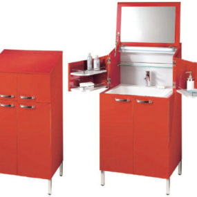 Convertible bathroom vanity from Decotec – La Malle des Indes vanity