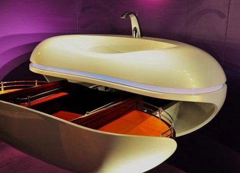 decotec vanity dx 130 drawer Parisian Glamour Bathroom Vanity by Decotec