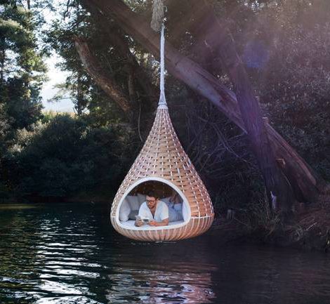 Hanging Lounger By Dedon Nestrest
