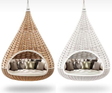 Admirable Hanging Lounger By Dedon Nestrest Machost Co Dining Chair Design Ideas Machostcouk