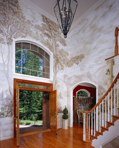 degage foyer medium 45762 Faux Painting by Degage   The Decorative Arts People