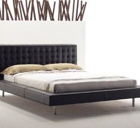 The Mathis Bed from DellaRobbia – a contemporary bed