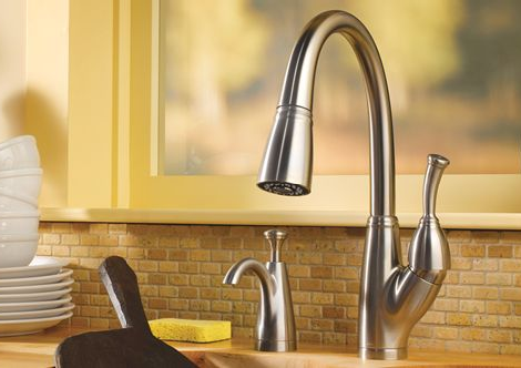 Delta Kitchen Faucet - new Allora Pull-Down Faucet