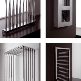 Home Radiator from Deltacalor – Smart, Modern Design, Industrial Look