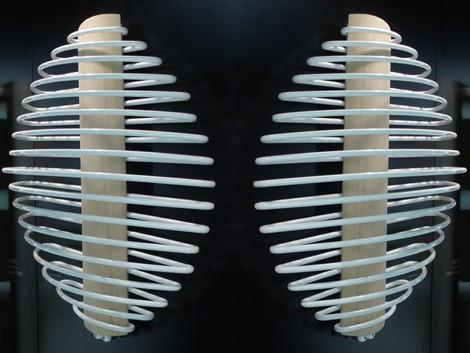 deltacalor radiator calorisfero 1 Unusual Radiator from Deltacalor   Contemporary Styling