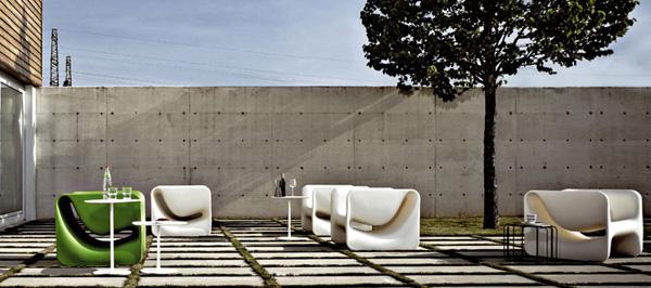 desalto armchair kloe 4 Ultra Modern Armchair from Desalto   Kloe