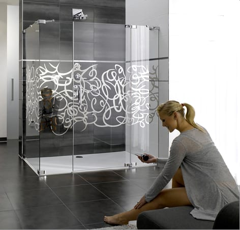 design shower enclosures hueppe 1 Design Shower Enclosure   glass enclosures Studio Paris by Hueppe
